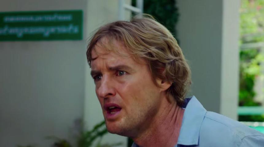 Owen Wilson sérieux dans la bande-annonce de No Escape