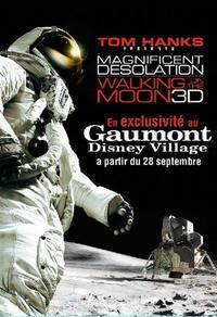 Magnifique Désolation : Marchons sur la lune 3D