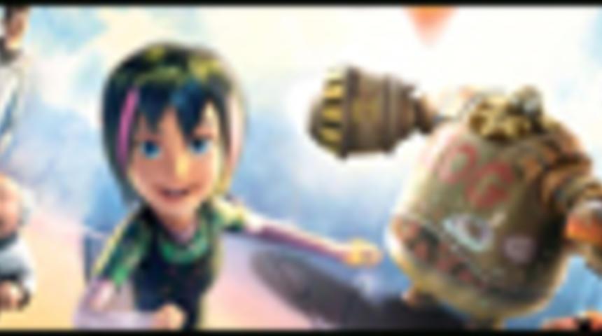 Affiche en français du film d'animation Astro