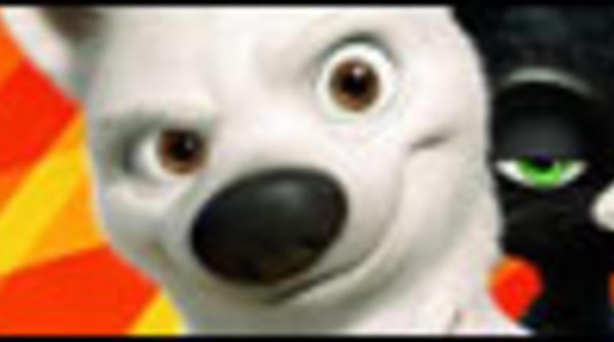 Affiche du film d'animation Bolt