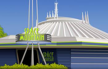 Disney réalise un film basé sur son manège Space Mountain