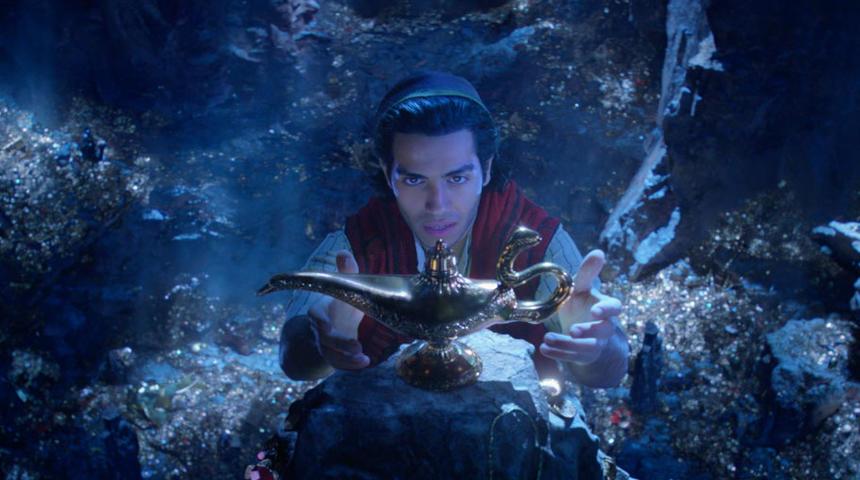 Premières images du nouveau Aladdin en prises de vue réelles
