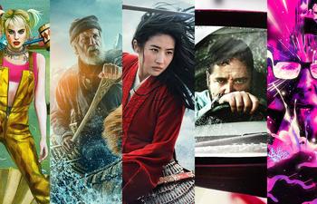 Top 15 des plus belles affiches de films de l'année 2020