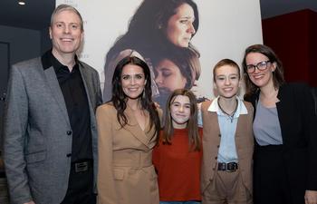 Photos : Première du film québécois Dérive avec Mélissa Désormeaux-Poulin