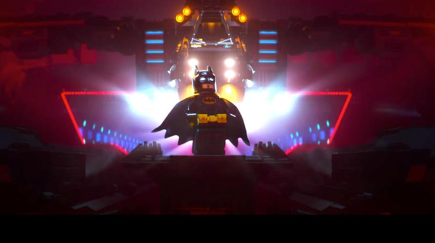 Une première bande-annonce irrésistible pour The LEGO Batman Movie