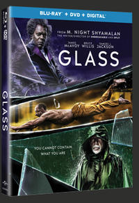 Combo Blu-Ray + DVD + copie numérique du film Verre