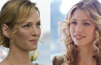 Uma Thurman et Jessica Biel dans la comédie Playing the Field