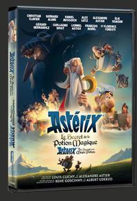 DVD du film Astérix, le secret de la potion magique