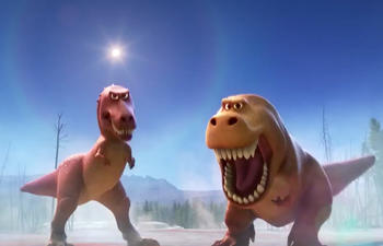 Pré-bande-annonce du film de Pixar, The Good Dinosaur