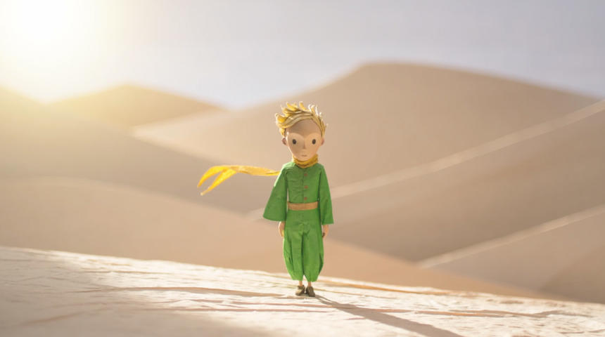 Première bande-annonce du film d'animation Le petit prince