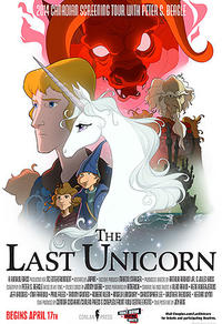 The Last Unicorn: 2014 Canadian Screening Tour With Peter S. Beagle