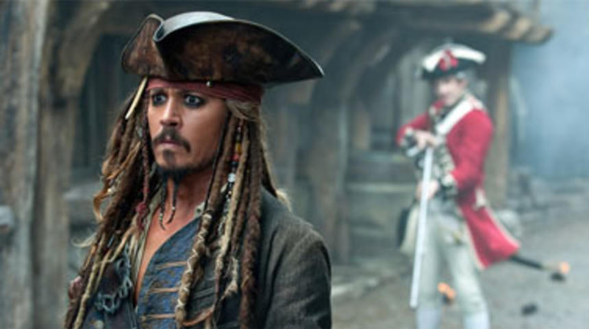Pirates of the Caribbean: On Stranger Tides très populaire à l'international
