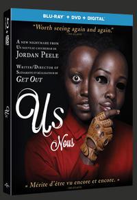 Combo Blu-Ray + DVD + copie numérique du film Nous
