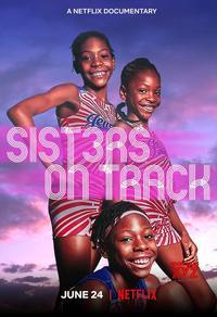 Trois soeurs sur la ligne de départ