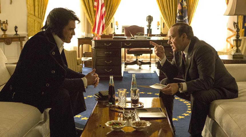 Une excellente première bande-annonce pour Elvis & Nixon