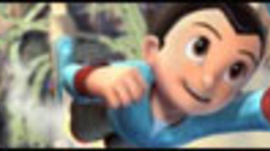 Primeur : Pré-bande-annonce en français du film d'animation Astro le petit robot