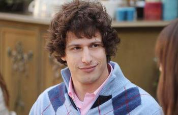 Andy Samberg sera l'ex petit-ami d'Anna Faris