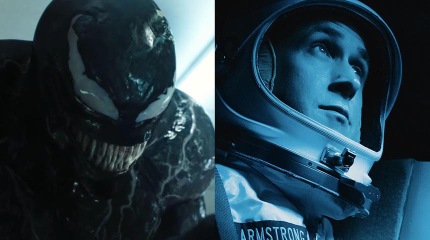 Box-office nord-américain : Neil Armstrong ne peut déloger Venom