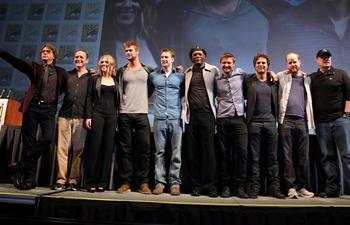 La distribution du film The Avengers dévoilée lors du Comic-Con