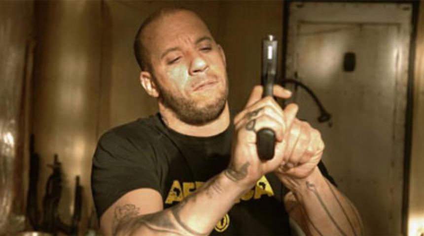 Vin Diesel dans The Machine