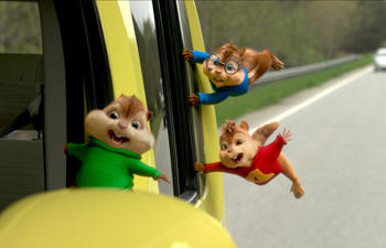 Sorties DVD: Alvin and the Chipmunks: The Road Chip