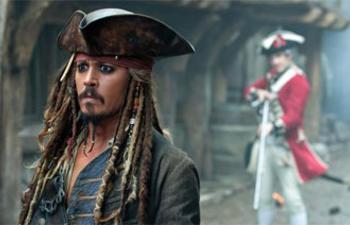 Pirates of the Caribbean: On Stranger Tides très populaire à l'international