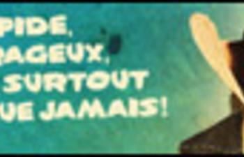 Affiche québécoise du film Lucky Luke
