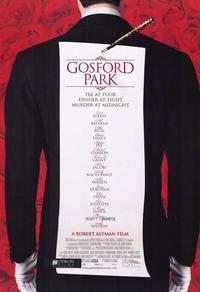 Un week-end à Gosford Park
