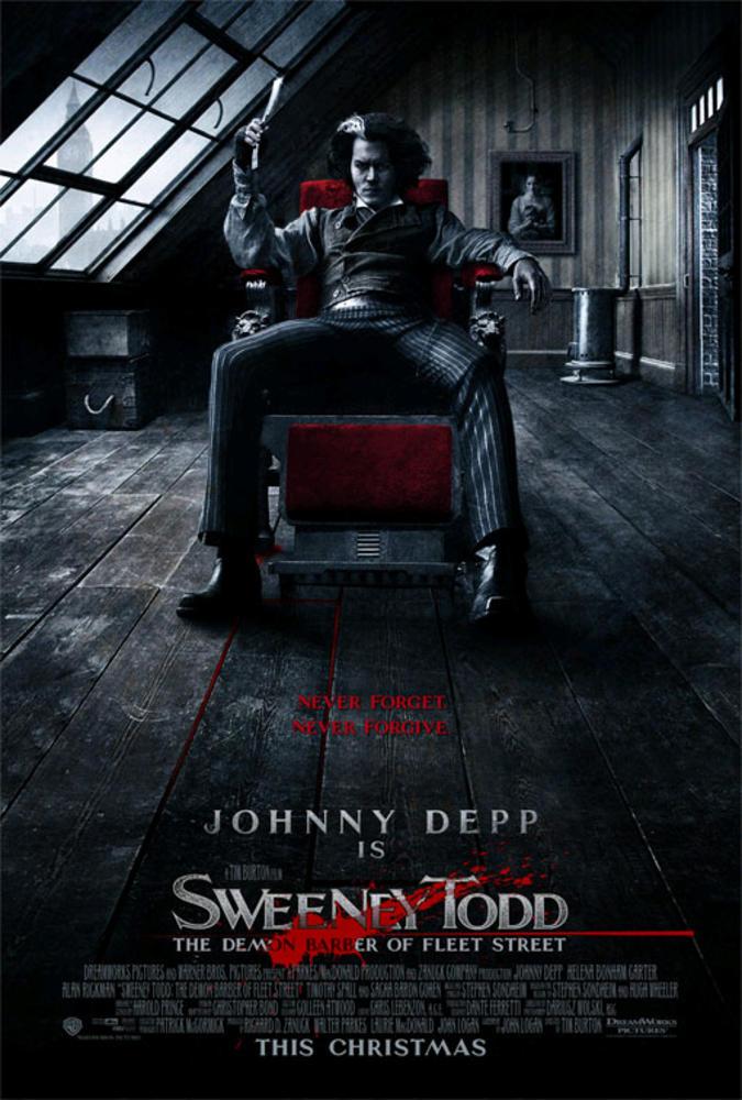 SWEENEY TODD : LE DIABOLIQUE BARBIER DE FLEET STREET (2007) - Film -  Cinoche.com