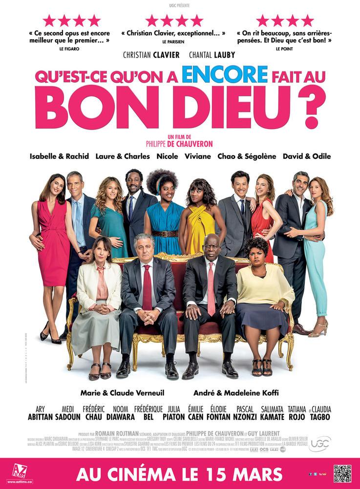 Qu Est Ce Qu On A Encore Fait Au Bon Dieu 2019 Film Cinoche Com