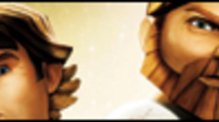 Affiche en français de La guerre des clones