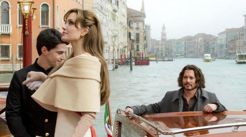 Première image du film The Tourist